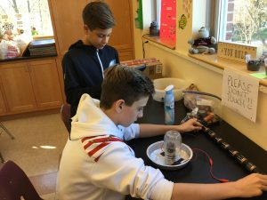 IMG 0067 300x225 - From the Desk Of...Mrs. Sandy Dilks: Hands on Learning at St. Norbert's Science Fair