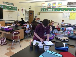 IMG 0069 300x225 - From the Desk Of...Mrs. Sandy Dilks: Hands on Learning at St. Norbert's Science Fair