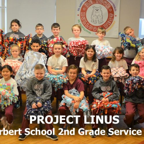 RoundUP SNS 03012019 500x500 - 2nd Graders Participate in Project Linus Service Project